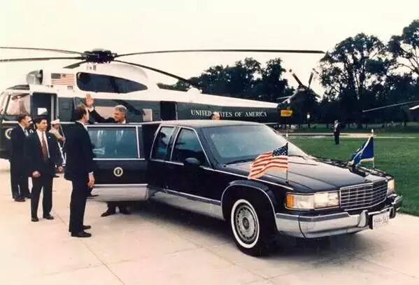 克林顿总统图书馆看到这款车.