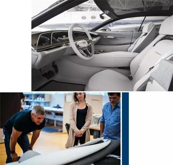凯迪拉克escal概念车内饰设计揭秘