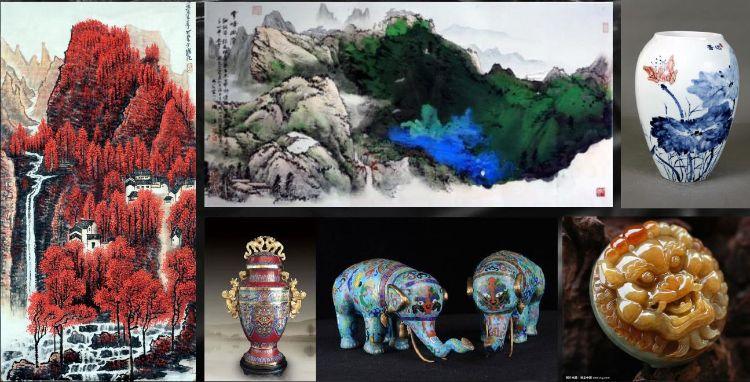 这个周末让武汉星凯展厅成为古玩,琴棋书画的专场吧图片