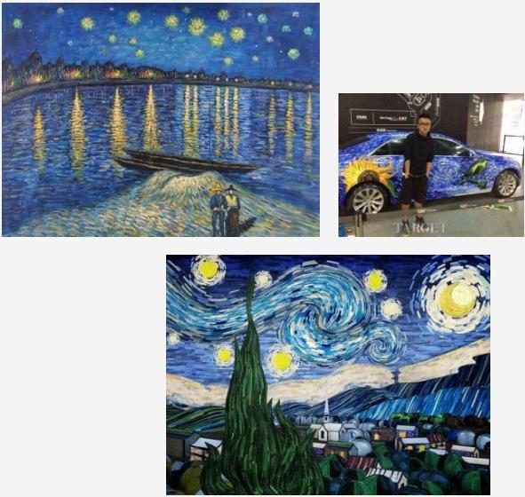 凯迪拉克汽车创意绘画涂鸦活动