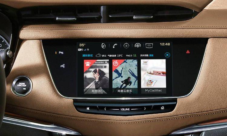凯迪拉克xt5轻混动车型全新上市